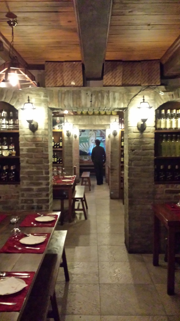It's as authentically Italian as a restaurant can look, but where is it?