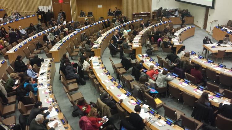 A UN summit in New York